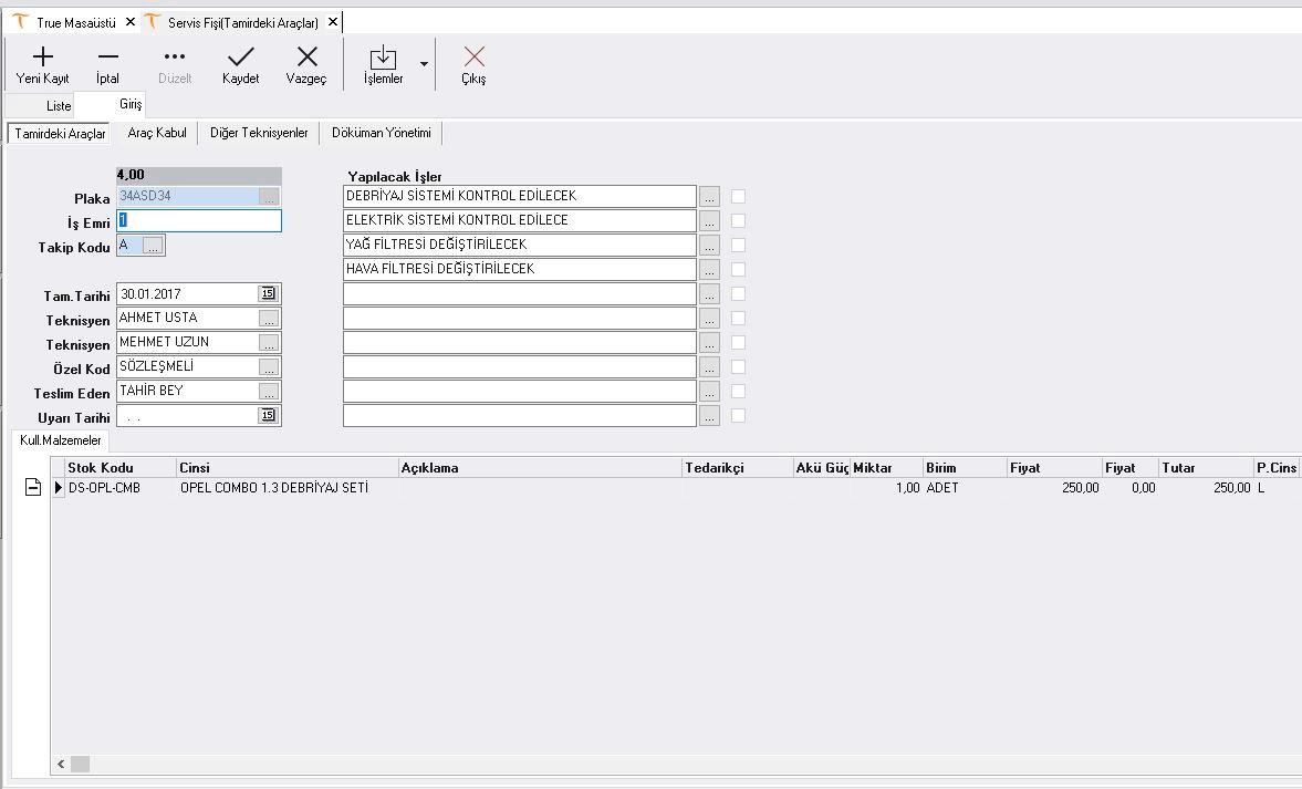 oto-servis-programi-Oto-Tamirdeki-Arac